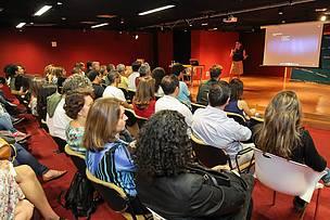Cerca de 150 pessoas participaram das palestras, que aconteceram no auditório da Livraria Cultura do shopping Casa Park