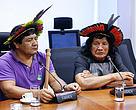 Indígenas pedem apoio ao MMA contra o desmatamento no Xingu