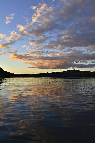 O rio Juruena, que banha o Mato Grosso, é um dos rios mais importantes da região do MAM