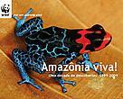Capa do relatório Amazônia Viva: uma década de descobertas 1999-2009