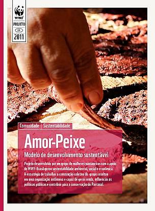 Capa da publicação Amor Peixe - Modelo de desenvolvimento sustentável