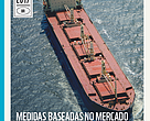 Capa da publicação MEDIDAS BASEADAS NO MERCADO NO TRANSPORTE MARÍTIMO DAS EXPORTAÇÕES BRASILEIRAS e potenciais impactos sobre economia nacional