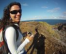 """Anna Carolina Lobo: """"é preciso olhar o mar com outros olhos""""."""