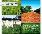 Capa da cartilha Conservando água e solo - pecuária de corte no Cerrado.