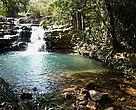 Cachoeira no Poço Azul - DF