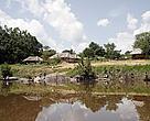 A comunidade de São Lourenço é a mais importante no Rio Guariba. Expedição Guariba-Roosevelt 2010.