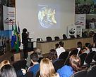 Terezinha Martins, analista de conservação do WWF-Brasil, ministrou palestra com os resultados dos trabalhos sobre a Pegada Ecológica em Campo Grande