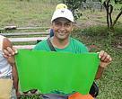 Sebastião Gomes, 32, extrai borracha por três meses e arrecada apenas com este produto, todos os anos, mais de R$ 4 mil
