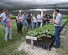 Entre os assuntos abordados na capacitação, estavam a recuperação de áreas degradadas e e como tirar o melhor proveito de sementes e áreas de cultivo