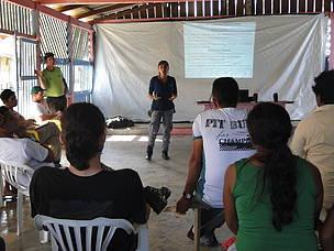 Oficina contou com 30 participantes entre pescadores, extrativistas, estudantes, donas de casa e