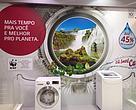 """A lavadora e secadora """"Lava & Seca Smart Care"""" poupa até 45%*"""