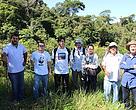 Equipe do WWF-Brasil, WWF-UK e do jornal The Telegraph durante expedição no Pantanal
