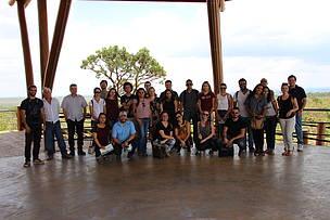 Trinta profissionais e estudantes participaram da visita, que foi até a Academia Unique e o Centro de Excelência do Cerrado