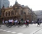 São Paulo (SP) - Pedalada do WWF-Brasil por Energias Renováveis, em junho de 2013.