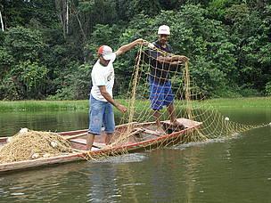 Lago Santo Antônio, município de Manoel Urbano (AC) / ©: WWF-Brasil/Bruno Taitson