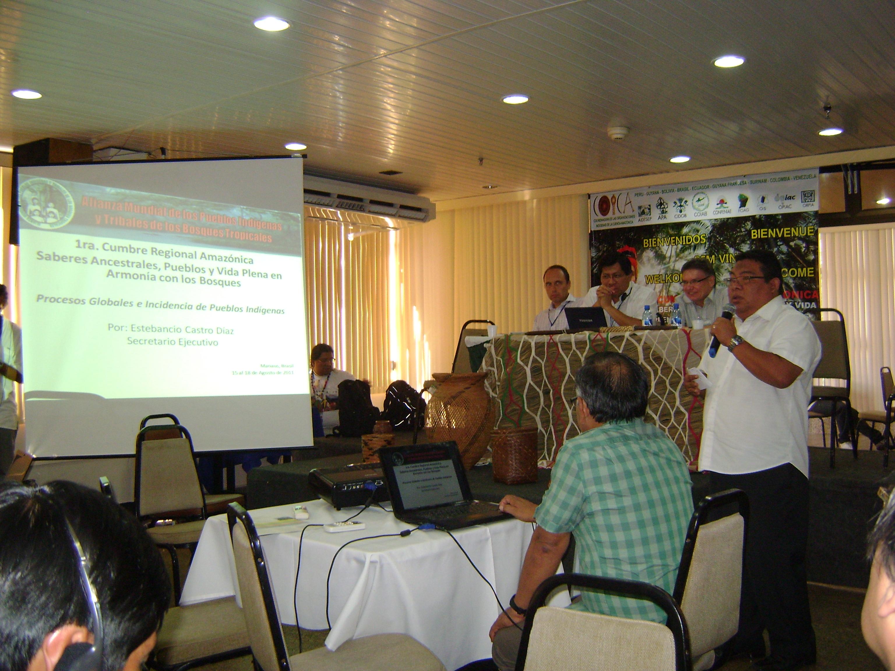Speech on deforestation in the amazon