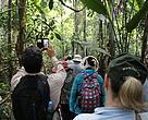 Participantes do study tour conhecem a reserva Chico Mendes
