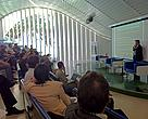 Gustavo Trindade (Instituto O Direito por um Planeta Verde) fala no seminário para jornalistas sobre o Código Florestal.