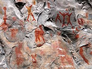 Pinturas Rupestres - Parque Nacional Cavernas do Peruaçu