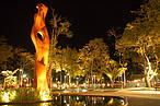 Praça da Revolução, que terá dois de seus monumentos apagados durante a Hora do Planeta 2014<br />©Governo do Estado do Acre/Divulgação