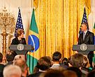 Dilma e Obama anunciam acordo contra mudanças climáticas