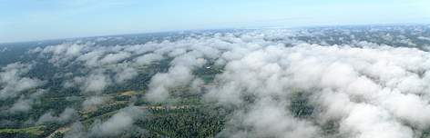 Vista aérea da Floresta Amazônica / ©: WWF-Brasil / Bruno Taitson