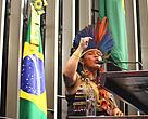 Sônia Guajajara no Congresso Nacional