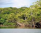 Lago na comunidade Xixuaú, durante a Expedição Mariuá-Jauaperi, na fronteira dos estados do Amazonas e Roraima.