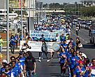 Manifestation in Brasilia against changes to the forest law