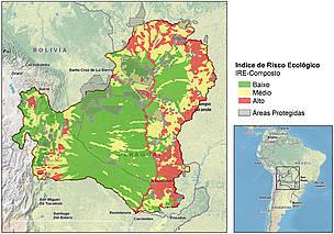 Áreas em maior risco na bacia precisam ser mais protegidas, urgentemente